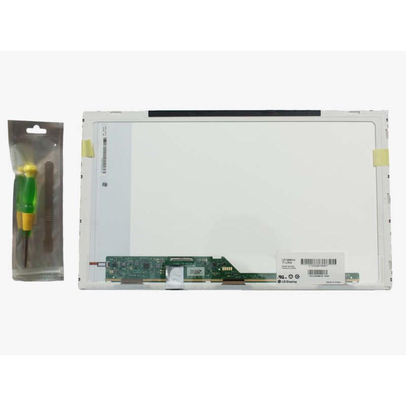 Écran LCD 15.6 LED pour ordinateur portable Toshiba Satellite C850-1C5 + outils de montage