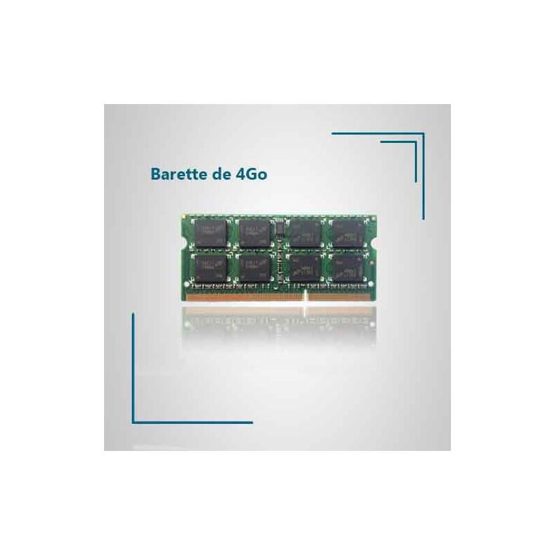 4 Go de ram pour pc portable Packard Bell EasyNote LM81- RB-501FR