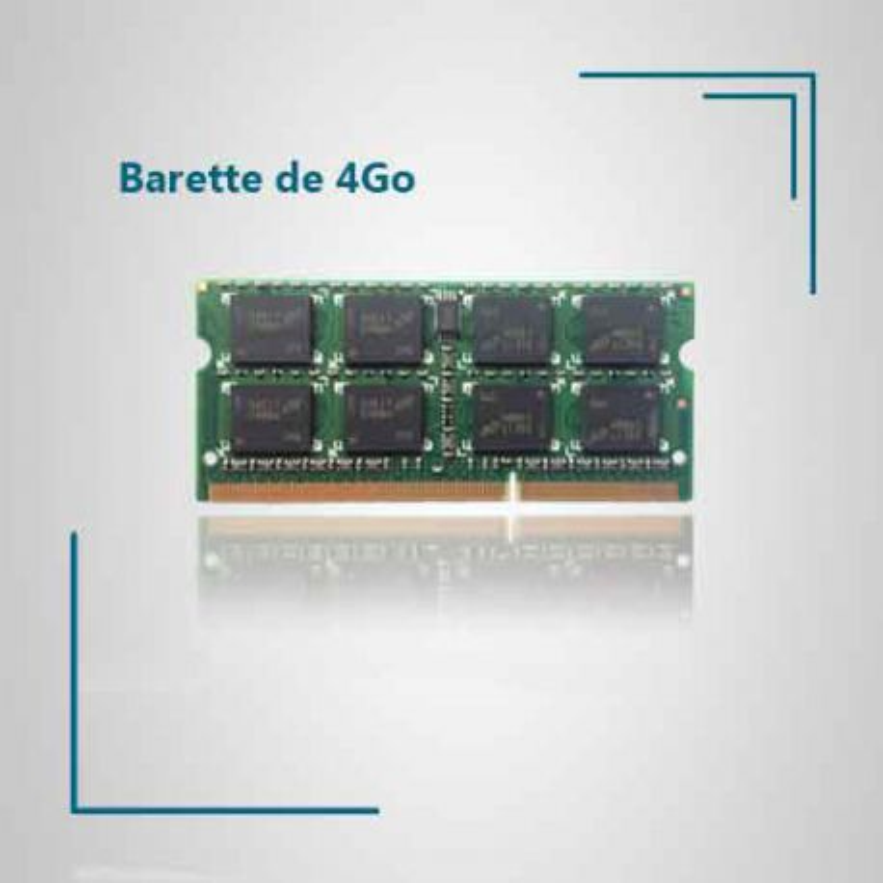 4 Go de ram pour pc portable TOSHIBA SATELLITE C870D-11V