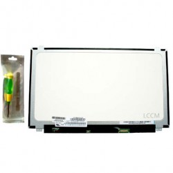 Dalle lcd 15.6 slim LED edp pour Packard Bell TG81BA-C6T0