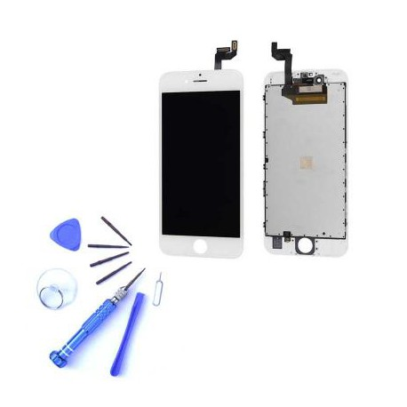Ecran iPhone 6S blanc - Kit de réparation complet