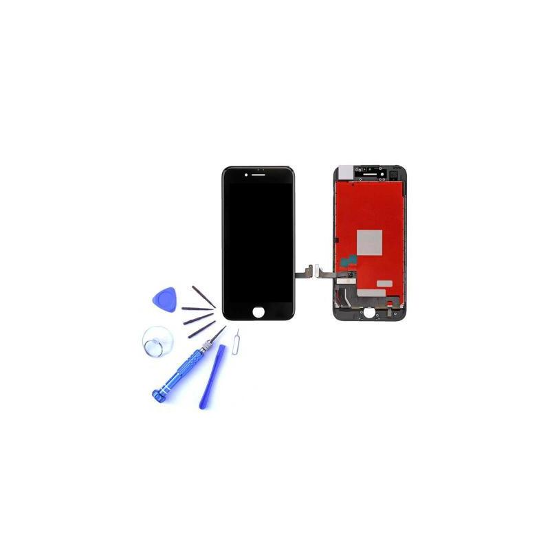 Ecran iPhone 7 noir - Kit de réparation complet