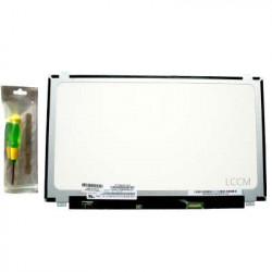 Écran de remplacement pour dalle thinborder avec attaches 15.6 Full HD de type NV156FHM-N45